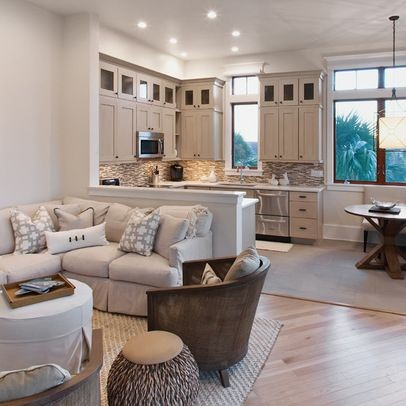 Open floorplans are popular for creating the illusion of space