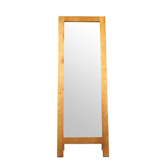 Chunky Pine Cheval Mirror