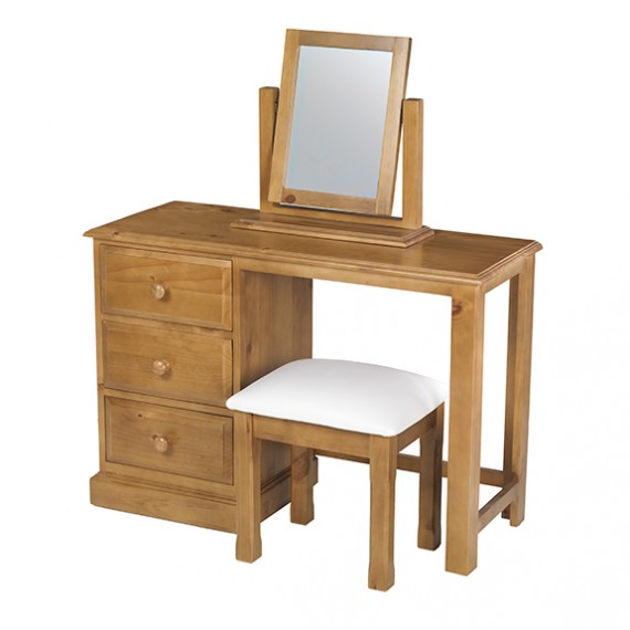 Country Pine Dressing Table Set