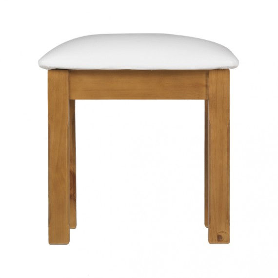 Country Pine Dressing Table Stool