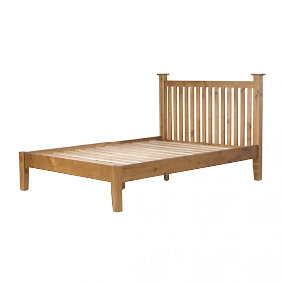Country Pine King Size Bed (5')
