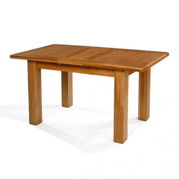 Emsworth Oak 120-150 cm Extending Dining Table