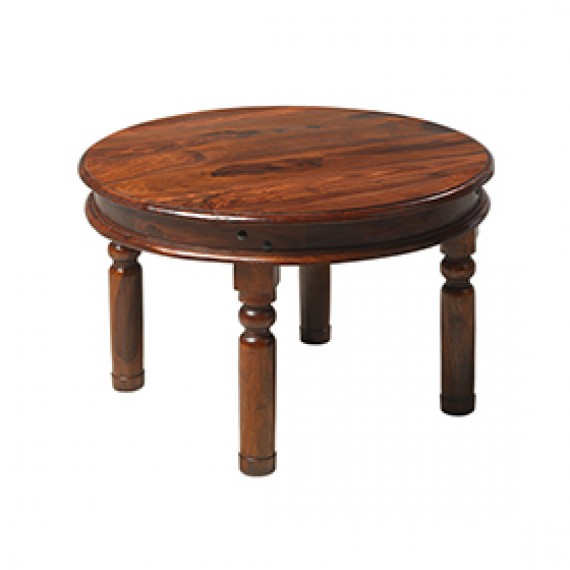 Jali Sheesham 70 cm Round Thakat Coffee Table