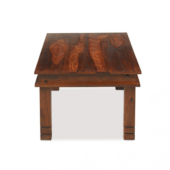 Jali Sheesham 90 cm Chunky Coffee Table