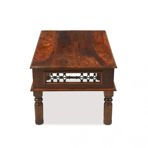 Jali Sheesham 90 cm Coffee Table