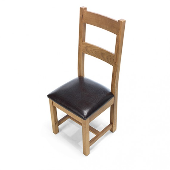 Emsworth Oak Dining Chairs - Pair