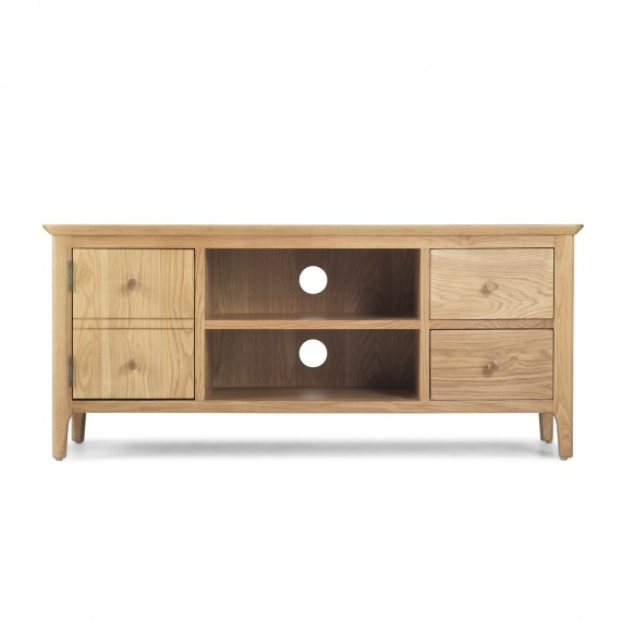 Enfield Oak Widescreen TV Unit