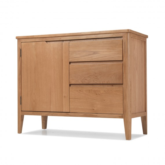 Cadley Oak Small Sideboard with Drawers