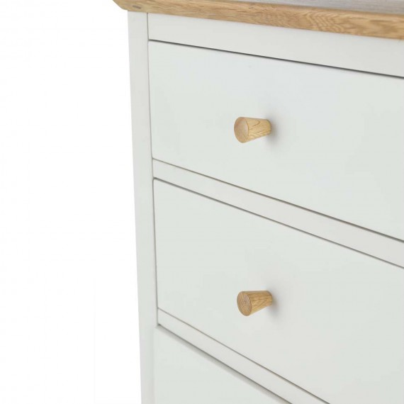 Mariah Painted 7 Drawer Chest Drawers