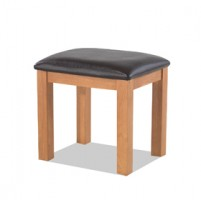 Kingham Oak Dressing Table Stool