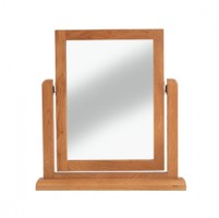 Kingham Oak Dressing Table Vanity Mirror