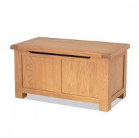 Kingham Oak Blanket Box