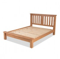 Kingham Oak 5ft King Size Bed Low Foot