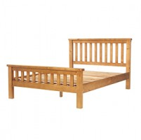 Chunky Pine King Size Bed (5')