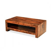 Cuba Sheesham Contemporary Coffee Table