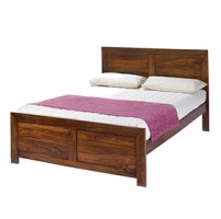 Cuba Sheesham King Size Bed (5')