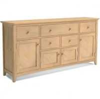 Parquet Oak Extra Large/Long  Sideboard