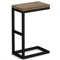 Riverside Industrial Oak Side/lamp Table
