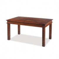 Jali Sheesham 140 cm Chunky Dining Table