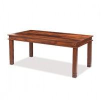 Jali Sheesham 180 cm Chunky Dining Table