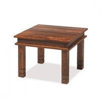 Jali Sheesham 60 cm Chunky Coffee Table