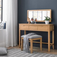 Harkus Oak Dressing Table Set