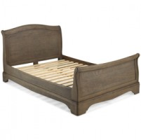 Loraine Oak Bedroom Super King Size Bed 6Ft