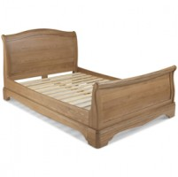 Loraine Natural Oak Bedroom Double Bed 4ft 6in