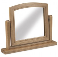 Loraine Natural Oak Bedroom Dressing Mirror