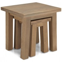 Howland Rough Sawn Oak Nest Of 2 Table