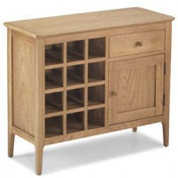 Enfield Oak Winerack Sideboard