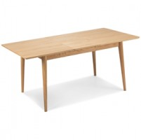 Skioa Oak Extended Dining  Table