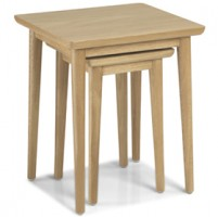 Skioa Oak Nest Of 2 Table