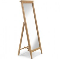 Danbury Oak Cheval Mirror