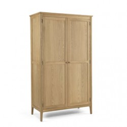 Danbury Oak Full Hanging Double Wardrobe