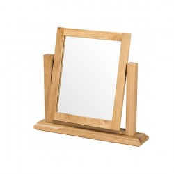 Breton Oak Dressing Table Vanity Mirror