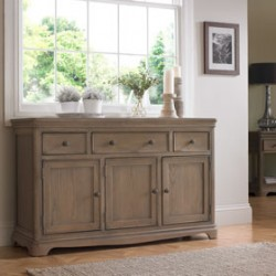 Loraine Oak Living & Dining Large Sideboard