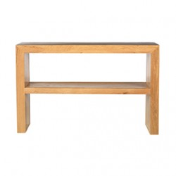 Cuba Oak Console Table