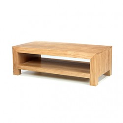 Cuba Oak Modern Coffee Table