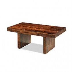 Cuba Sheesham Block Coffee Table