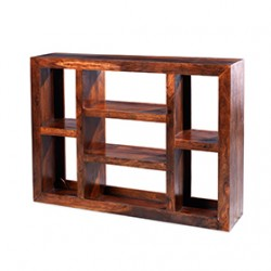Cuba Sheesham Large Multi Shelf