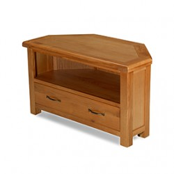 Emsworth Oak Corner TV Unit