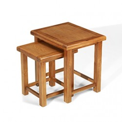 Emsworth Oak Nest of 2 Tables