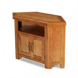 Emsworth Oak Petite Corner TV Unit