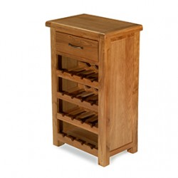 Emsworth Oak Small Wine Rack