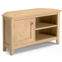 Parquet Oak Corner TV Unit