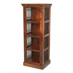Jali Sheesham Alcove Bookcase