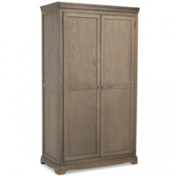 Loraine Oak Bedroom Full Hanging Wardrobe