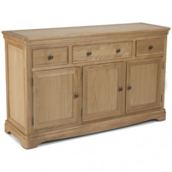 Loraine Natural Oak Living & Dining Large Sideboard