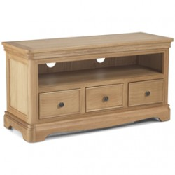 LoraineNatural Oak Living & Dining TV Video Cabinet